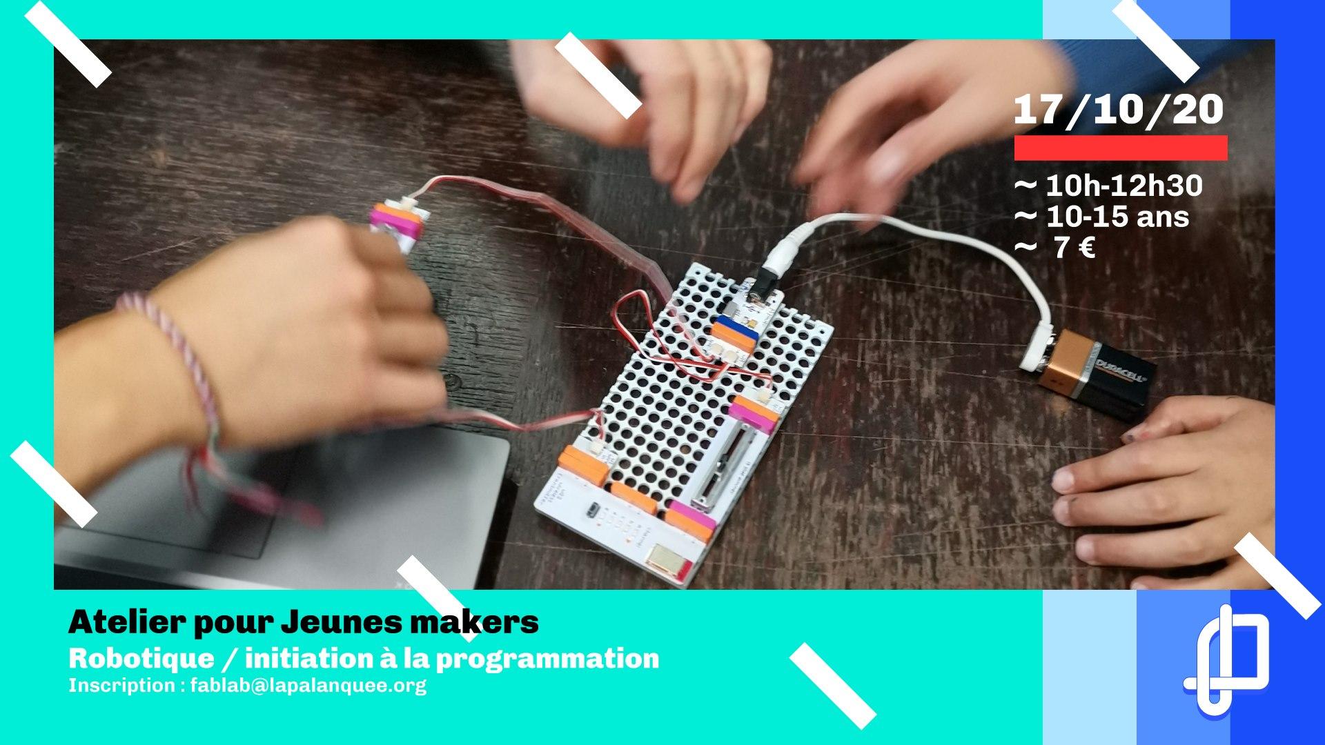 Ateliers pour jeunes makers