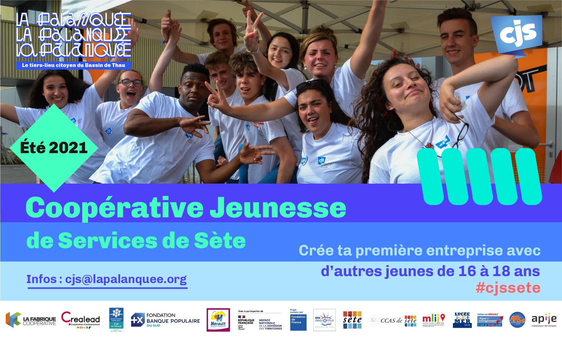 Stand : La Coopérative Jeunesse de Services de Sète