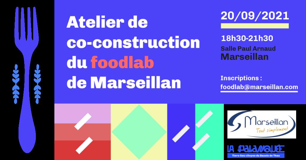 Atelier co construction projet de foodlab de Marseillan